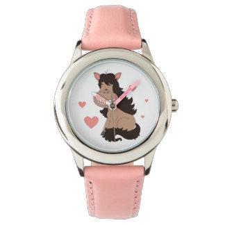 Relógio De Pulso Desenhos animados bonitos do pônei