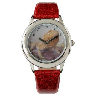 Relógio De Pulso Design bonito da foto de Beardie