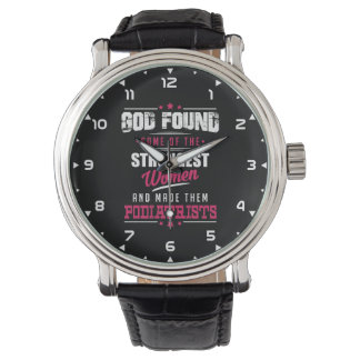Relógio De Pulso Design divertido feito deus da profissão dos