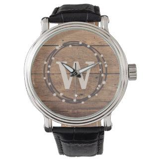 Relógio De Pulso Design do monograma