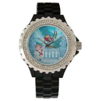 Relógio De Pulso Design do Natal, Papai Noel