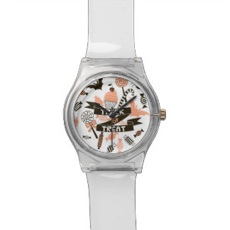 Relógio De Pulso Design dos presentes da doçura ou travessura