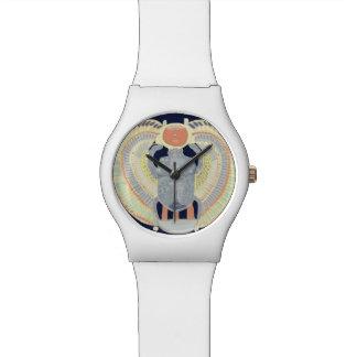 Relógio De Pulso Design egípcio do escaravelho
