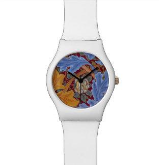 Relógio De Pulso Design floral do vintage de William Morris St