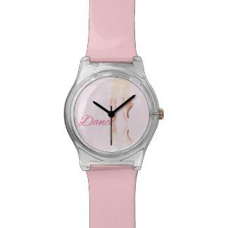 Relógio De Pulso Deslizadores do balé da dança