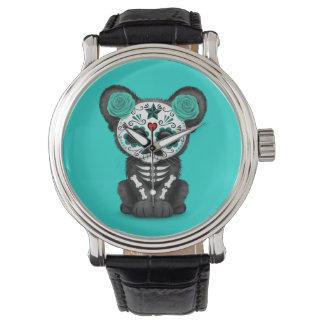 Relógio De Pulso Dia azul da pantera preta inoperante Cub