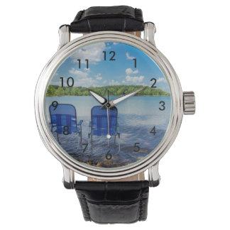 Relógio De Pulso Dia perfeito no lago