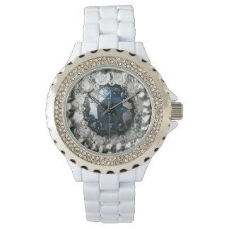 Relógio De Pulso Diamante azul