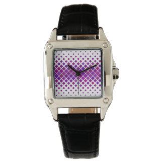 Relógio De Pulso Diamantes violetas
