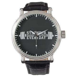 Relógio De Pulso Diário mais forte - exercício inspirado