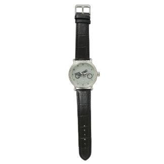 Relógio de pulso do costume dos homens