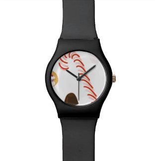 Relógio De Pulso Doces dos docinhos do Natal, bastão de doces dos