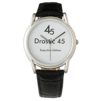 Relógio de pulso drástico da edição de 45