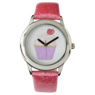Relógio De Pulso É tempo do cupcake