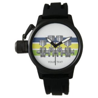 Relógio De Pulso Eixo de manivela do pistão