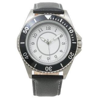 Relógio De Pulso Elegante simples minimalista moderno