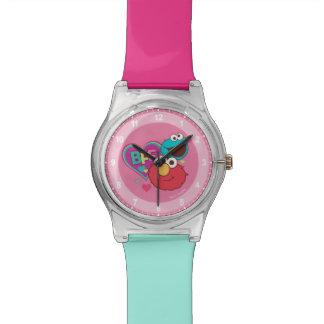 Relógio De Pulso Elmo & monstro do biscoito - BFF
