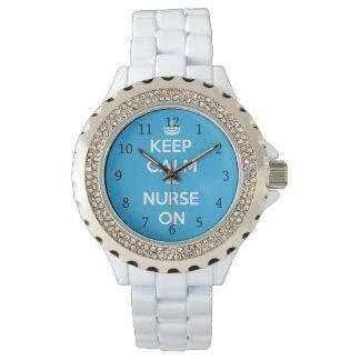 Relógio De Pulso Enfermeira no relógio, presente para a enfermeira
