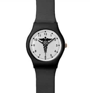 Relógio De Pulso Enfermeiras e doutores médicos do símbolo