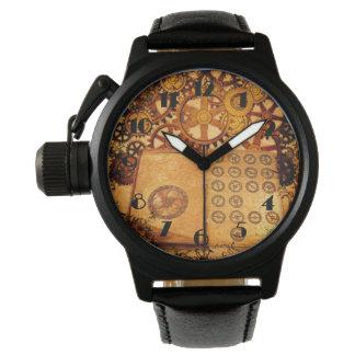 Relógio De Pulso Engrenagens de Steampunk do Grunge