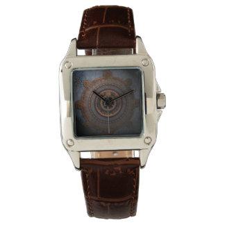 Relógio De Pulso Engrenagens do metal da horas de Steampunk