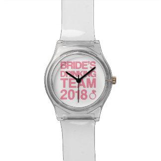 Relógio De Pulso Equipe 2018 do bebendo da noiva