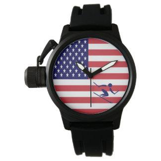Relógio De Pulso Equipe Apline EUA de esqui