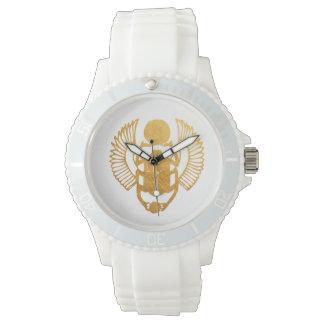 Relógio De Pulso Escaravelho Egipto. Besouro voado egípcio do