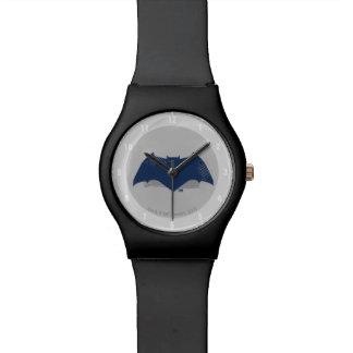 Relógio De Pulso Escova da liga de justiça | & símbolo de intervalo