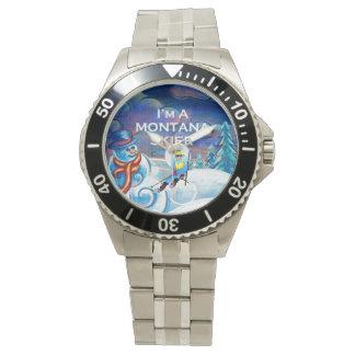 Relógio De Pulso Esquiador SUPERIOR de Montana