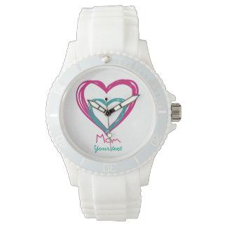 Relógio De Pulso Eu amo a mamã