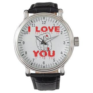 Relógio De Pulso Eu te amo