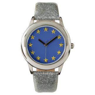 Relógio De Pulso Europa estandarte