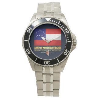 Relógio De Pulso Exército de Virgínia do norte (F10)