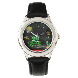 Relógio De Pulso Extraterrestre na ovni