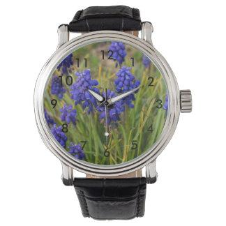 Relógio De Pulso Família dos jacintos de uva