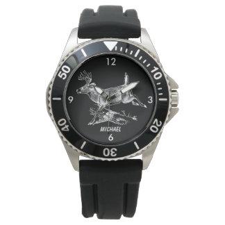 Relógio De Pulso Fanfarrão do Whitetail com grande cremalheira