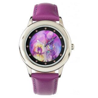 Relógio De Pulso Fantasia do roxo da GUERRA dos MONSTRO do DIA DAS