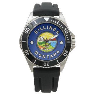 Relógio De Pulso Faturamentos Montana
