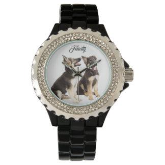 Relógio De Pulso Filhotes de cachorro personalizados do german