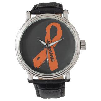 Relógio De Pulso Fita rasgada BADASS/do MS