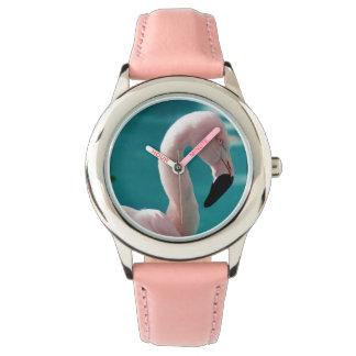 Relógio De Pulso Flamingo cor-de-rosa