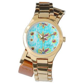 Relógio De Pulso Flor da jóia
