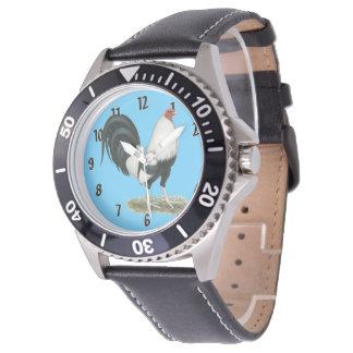 Relógio De Pulso Gamecock de prata de Duckwing