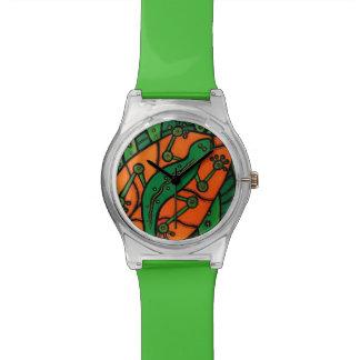 Relógio De Pulso Geco verde