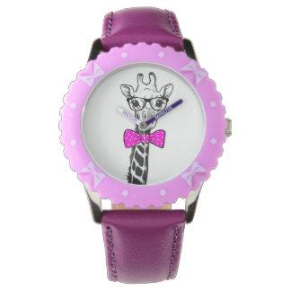 Relógio De Pulso Girafa do hipster