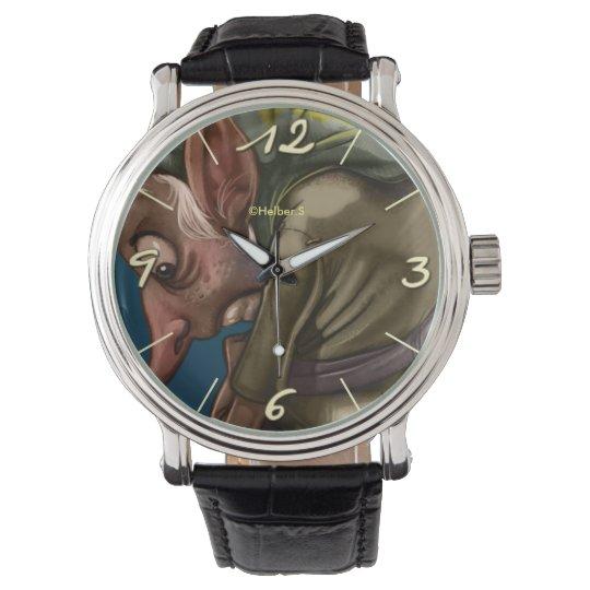 Relógio De Pulso Gnomo Clock