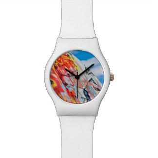 Relógio De Pulso grafites do planeta