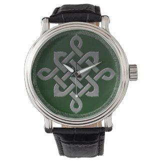 Relógio De Pulso gre irlandês pagão do símbolo antigo celta de