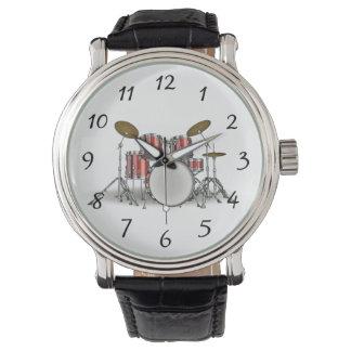 Relógio De Pulso Grupo ilustrado do cilindro